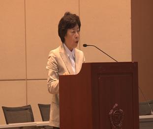 韩国医疗观光协会会长、议员致辞医疗观光论坛
